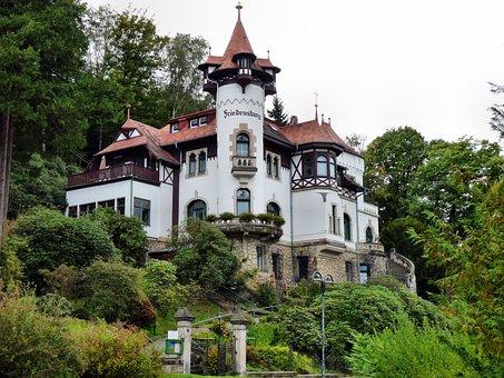 Peace Castle In Rathen, Building, Architecture