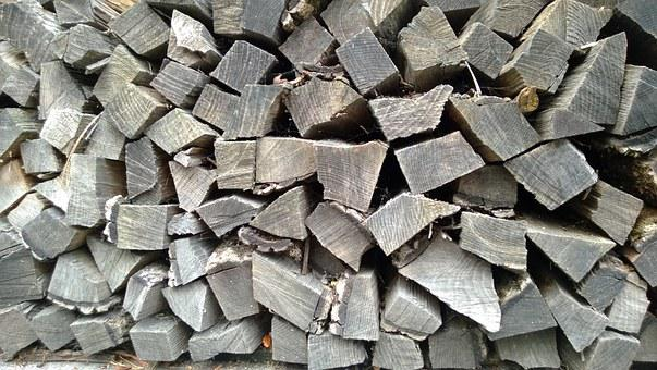 Wood, Holzschlag, Firewood, Forest, Holzstapel, Pension