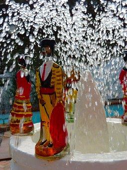 Fountain, Water, Dalí, Lligat Port, Spain