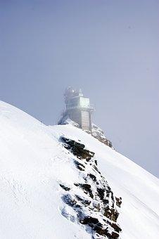 Jungfraujoch, Sphinx Observatory, Mountains
