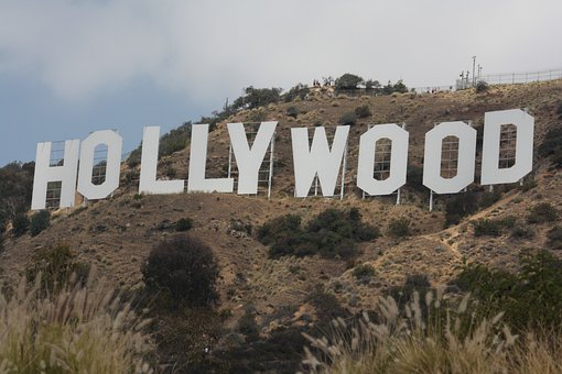 Hollywood, Hollywood Sign, Los Angeles, California, Usa