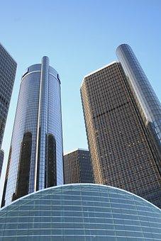 Buildings, Detroit, General Motors Headquarters