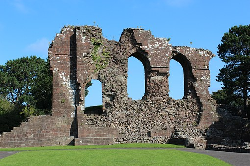 Castle, Egremont, Ruins, Heritage, History, Historical