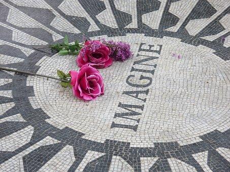 Strawberry Fields, Imagine, John Lennon, Central Park