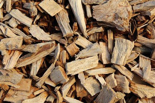 Wood, Mulch, Bark, Chips