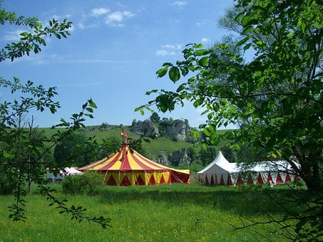 Circus Tent, Circus In The Green, Eselsburg Valley