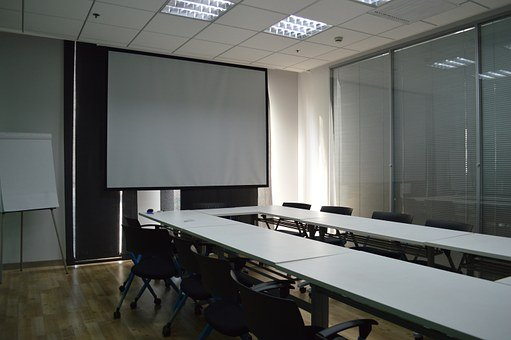 Conference Room, Train, Classroom