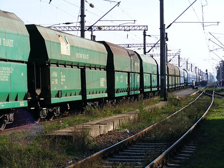 Train, Transportation, Rail, Freight, Depot, Railway