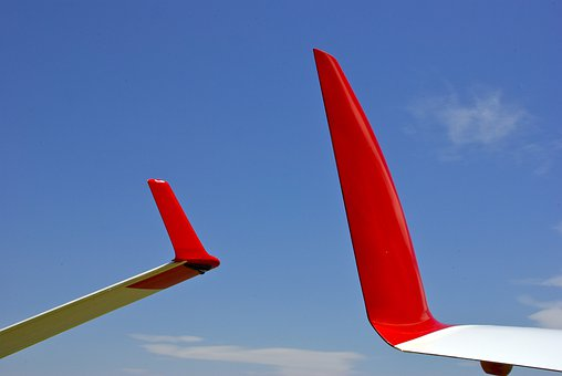 Glider, Wings, Airplane, Sailplane, Aeroplane, Close-up