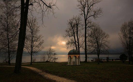 Landscape, Fog, Morning, Mood, Morgenstimmung, Nature