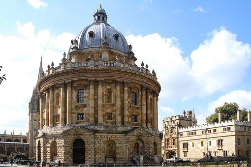Radcliffe Camera, Oxford, England, Building