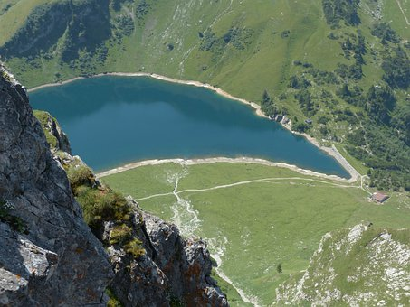 Wedding Mountain Lake, Lake, Bergsee, Reservoir
