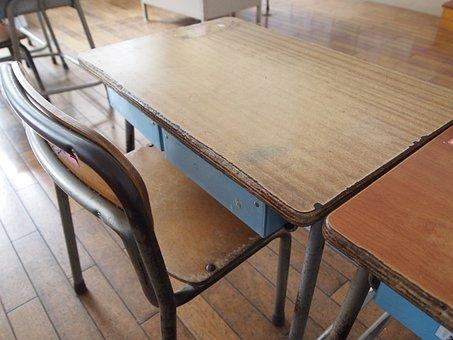 School, Desk, Study, Memories, Classroom
