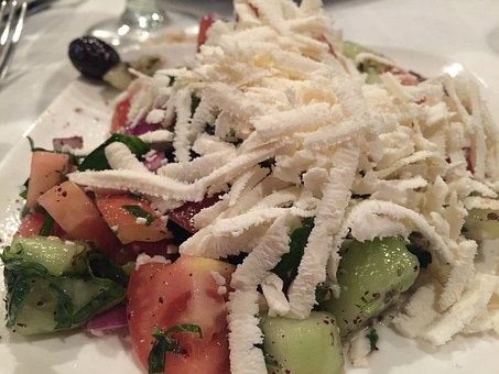 Shepard Salad, Salad, Turkish, Mediterranean, Healthy