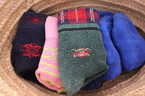 Socks, Stopper Socks, Basket, Socks Couple, Colorful
