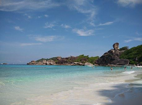 Similan Island, Donald Duck Rock, Booked, Sea, Beach