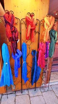 Scarf, Bandana, A Neckerchief, Clothing, Colorful