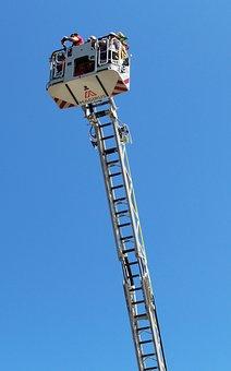 Ladder, Fire, Extendable Ladder