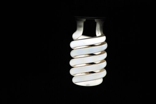 Bulb, Fluorescent, Light, Compact, Incandescent