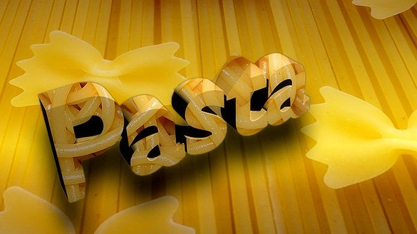 Noodles, Pasta, Eat, Food, Yellow, Italian, Cook