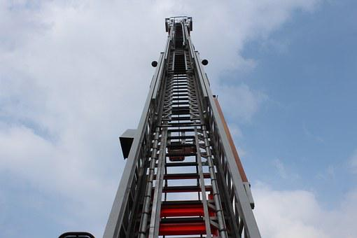 Head, Cart, Ladder, Fire, Fire Truck, Equipment, Auto