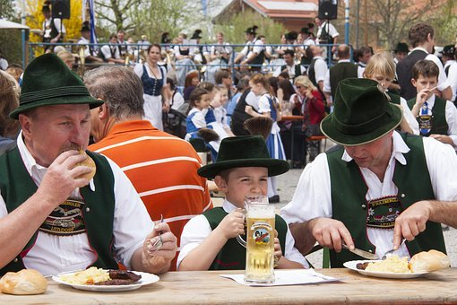 Human, Personal, Bavarian Dinner, Substantial, Costume