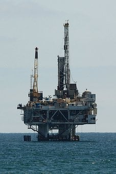 Oil, Drilling, Offshore, Platform, Industry, Energy