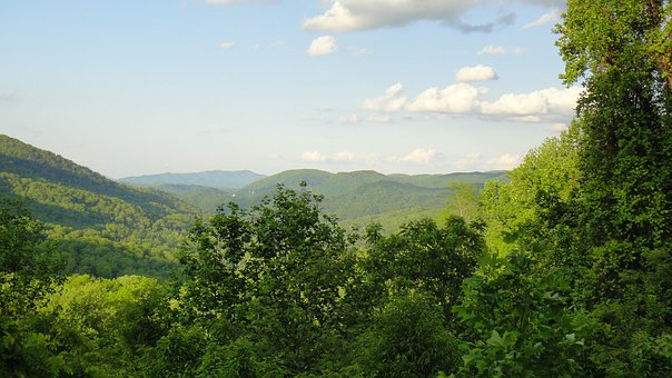 Tennessee, Landscape, Tranquil, Smoky Mountains, Scenic