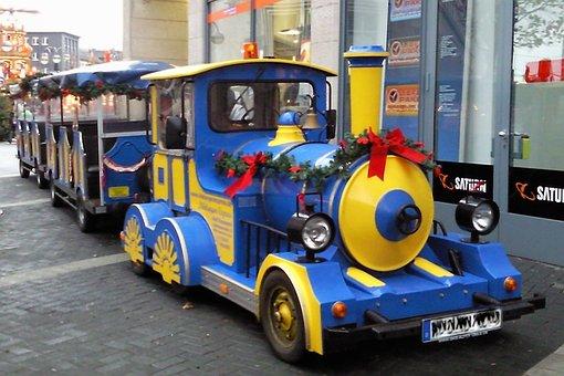 Locomotive, Vehicles, Kiddy Train, Small Train, Train