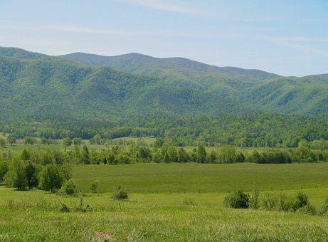 Tennessee, Smokies, Smoky Mountains, Valley, Mountains