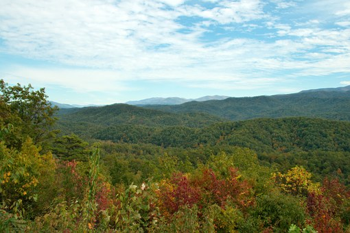 Tennessee, Smoky Mountains, Mountains, Landscape