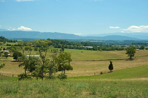 Tennessee, Landscape, Mountains, Trees, Country, Nature