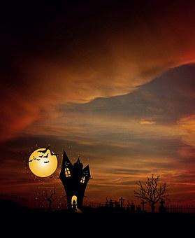 Moonlight, Evening, Weird, Dusk, Atmosphere, Mystical