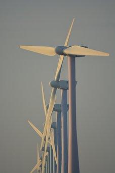 Nature, Windmills, Netherlands, Wind Energy, View