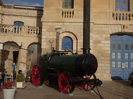 Steam Engine, Machine, Old, Power, Technology, Vintage