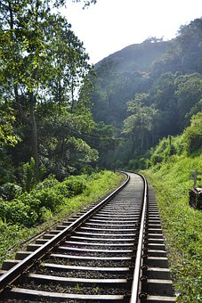 Rail Road, Rail, Rails, Train, Transport, Path, Tunnel