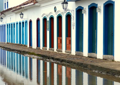 Paraty, Rio De Janeiro, Architecture, Colonial