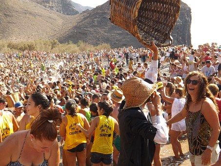 Festivals In The Pond, S Nicolas Village, Gran Canaria