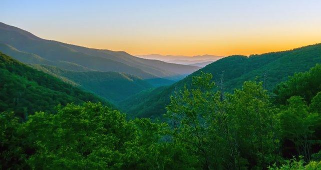 Morning After, Blue Ridge Mountains, Parkway, Smoky