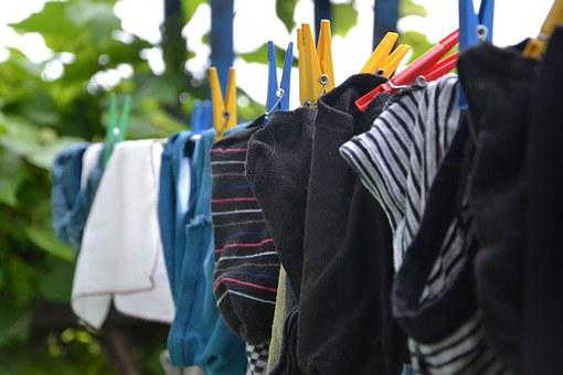 Wash, Washing, Drying, Cleaning, Szuszyć, Clip, Clothes