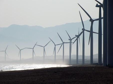 Beach, Wind Farm, Bangui, Ilocos Norte