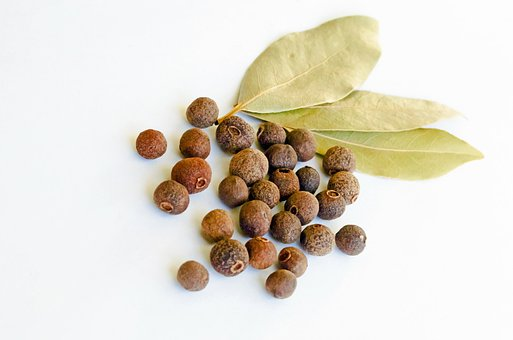 Allspice, Aromatic, Bay-leaf, Berry, Cooking, Dry