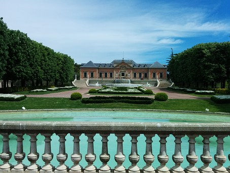 Beautiful Garden, Building, Barcelona, Palau San Jordi