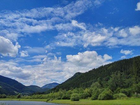 Sky, Clouds, Blue, Clouds Form, Landscape, Forest