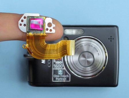 Ccd, Digital, Camera, Sensor, Photo, Pixel, Technology