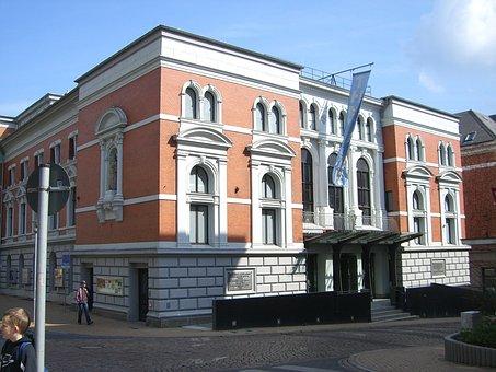 Flensburg, Theater, Landestheater, Downtown
