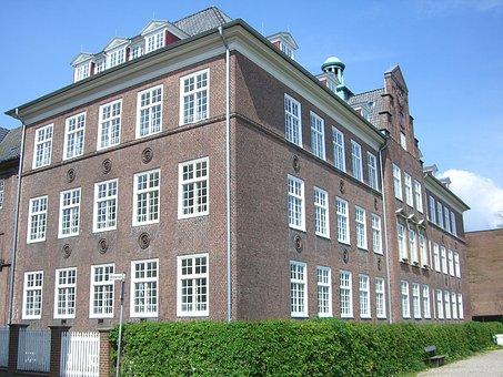 Flensburg, School, Duburg, Duborg