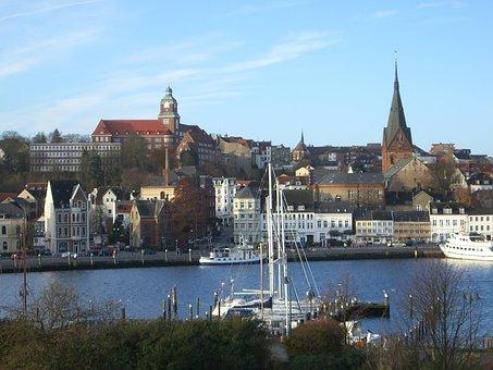 Flensburg, Port, West Side, Historic Center