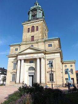 Flensburger Brick, Church, Sweden, Gothenburg, Downtown