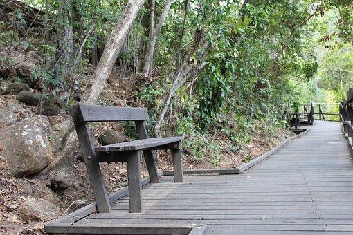 Bench, Seat, Sit, Happy, Park, Wooden, Park Bench